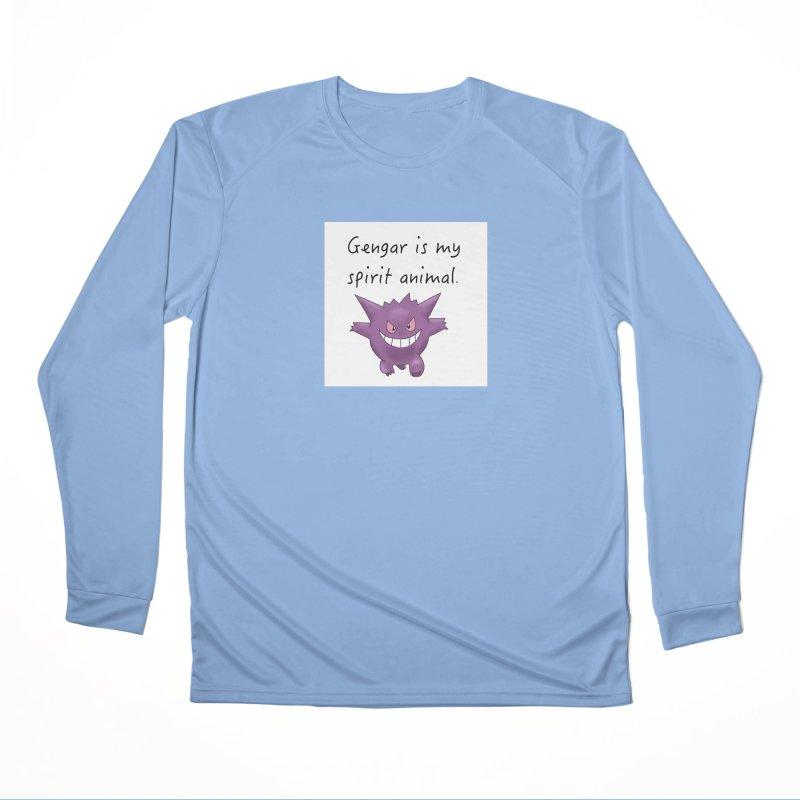 Gengar is my Spirit Animal Men's Longsleeve T-Shirt by henryx4's Artist Shop