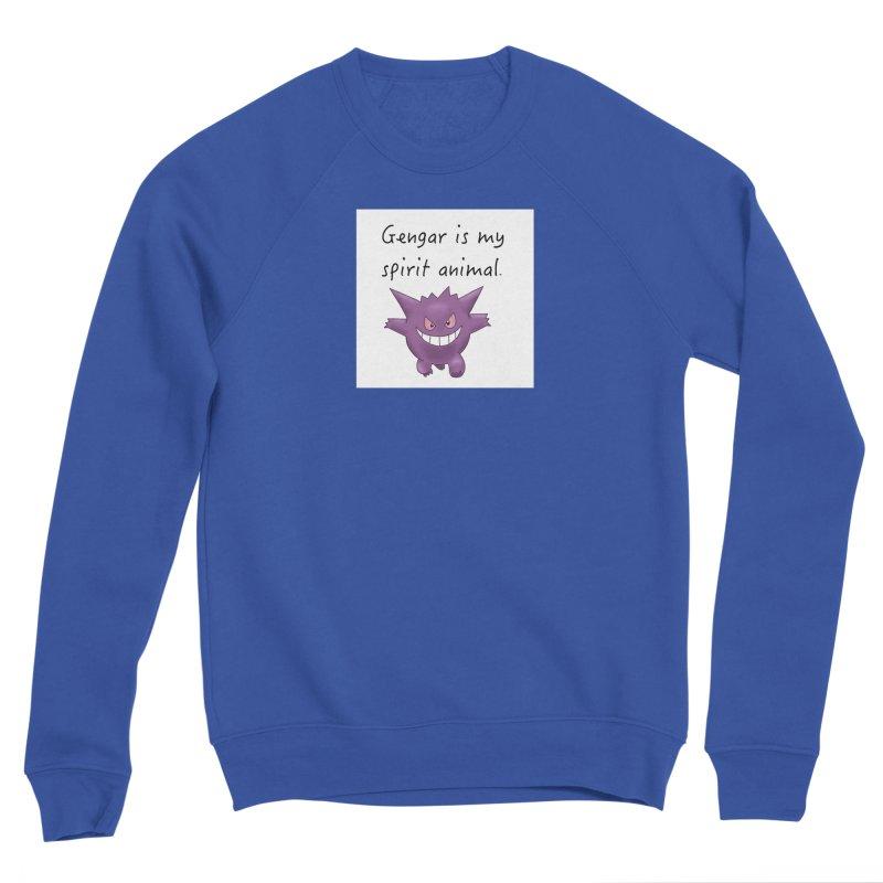 Gengar is my Spirit Animal Men's Sweatshirt by henryx4's Artist Shop
