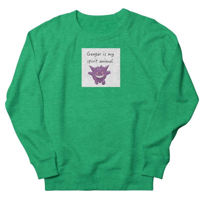 Gengar is my Spirit Animal Women's Sweatshirt by henryx4's Artist Shop