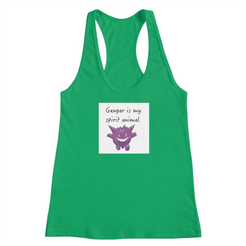 Gengar is my Spirit Animal Women's Tank by henryx4's Artist Shop