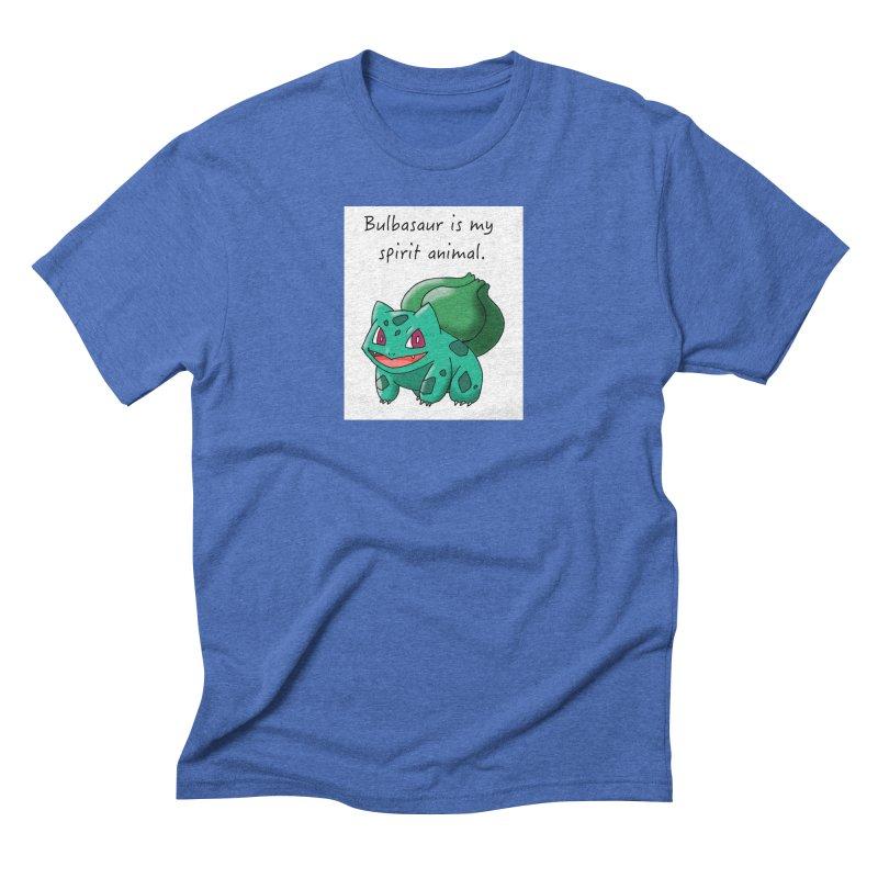 Bulbasaur is my spirit animal. Men's T-Shirt by henryx4's Artist Shop