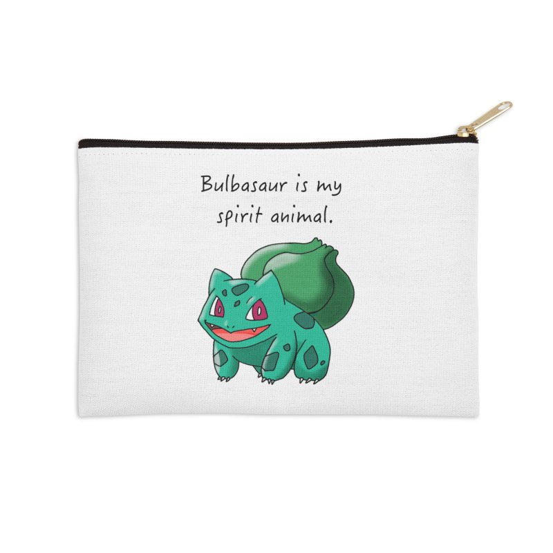 Bulbasaur is my spirit animal. Accessories Zip Pouch by henryx4's Artist Shop