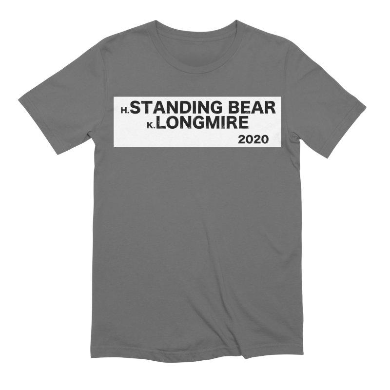 Standing Bear & Longmire 2020 Men's T-Shirt by henryx4's Artist Shop