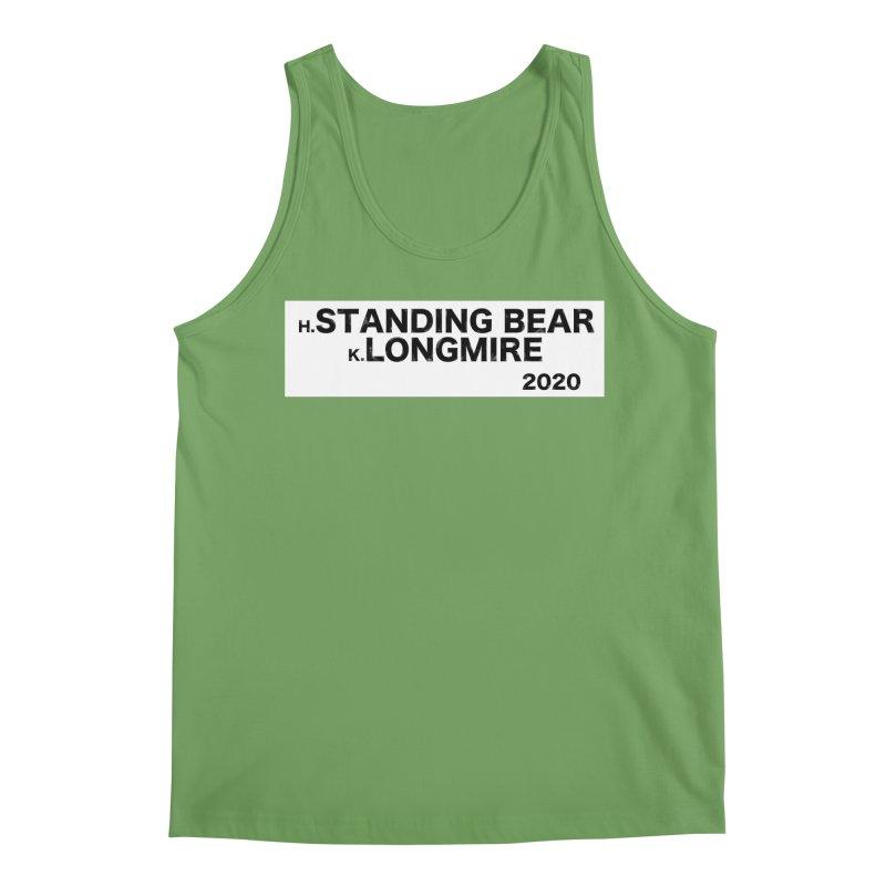 Standing Bear & Longmire 2020 Men's Tank by henryx4's Artist Shop