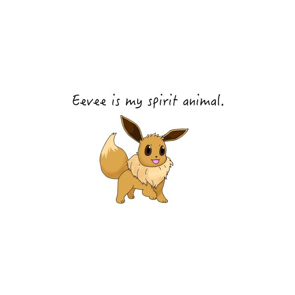 image for Eevee is my spirit animal.
