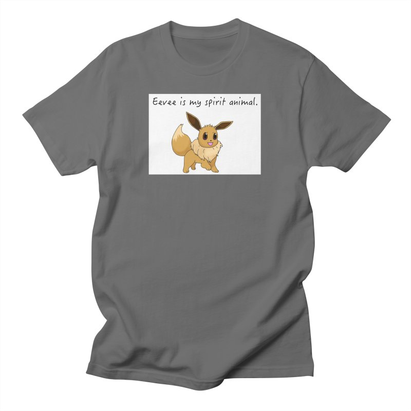 Eevee is my spirit animal. Men's T-Shirt by henryx4's Artist Shop