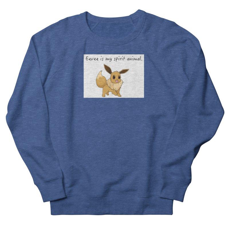 Eevee is my spirit animal. Men's Sweatshirt by henryx4's Artist Shop