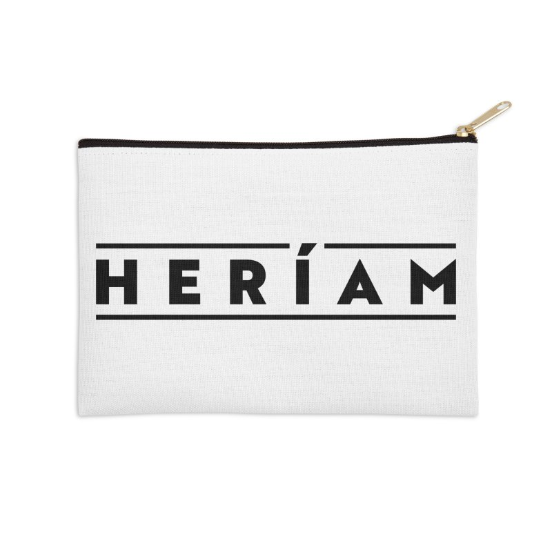 Heríam Simply Bold Accessories Zip Pouch by HERÍAM's Artist Shop