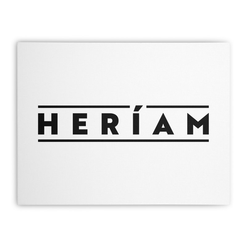 Heríam Simply Bold Home Stretched Canvas by HERÍAM's Artist Shop