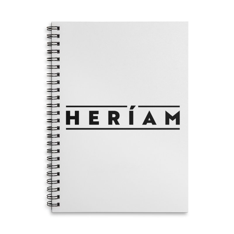 Heríam Simply Bold Accessories Lined Spiral Notebook by HERÍAM's Artist Shop