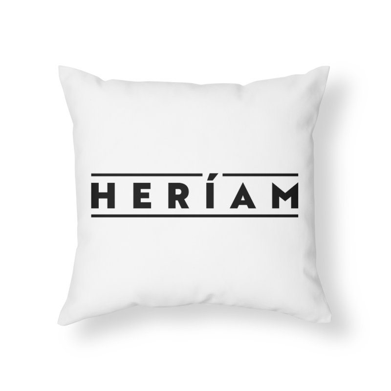 Heríam Simply Bold Home Throw Pillow by HERÍAM's Artist Shop