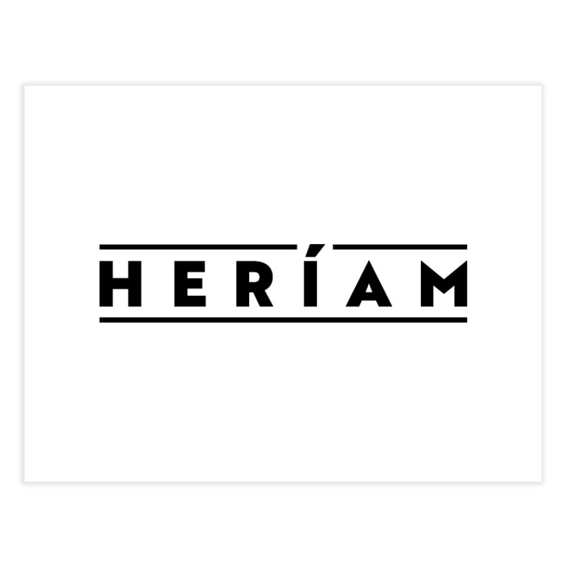 Heríam Simply Bold Home Fine Art Print by HERÍAM's Artist Shop