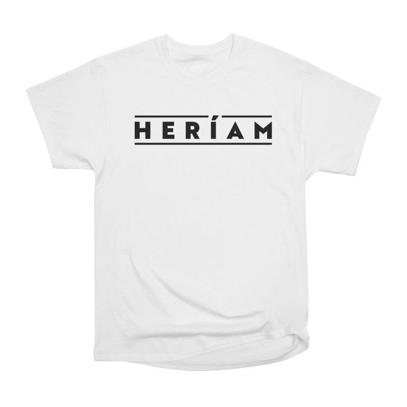 Heríam Simply Bold Men's Heavyweight T-Shirt by HERÍAM's Artist Shop