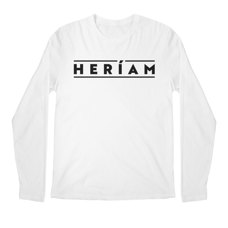 Heríam Simply Bold Men's Regular Longsleeve T-Shirt by HERÍAM's Artist Shop