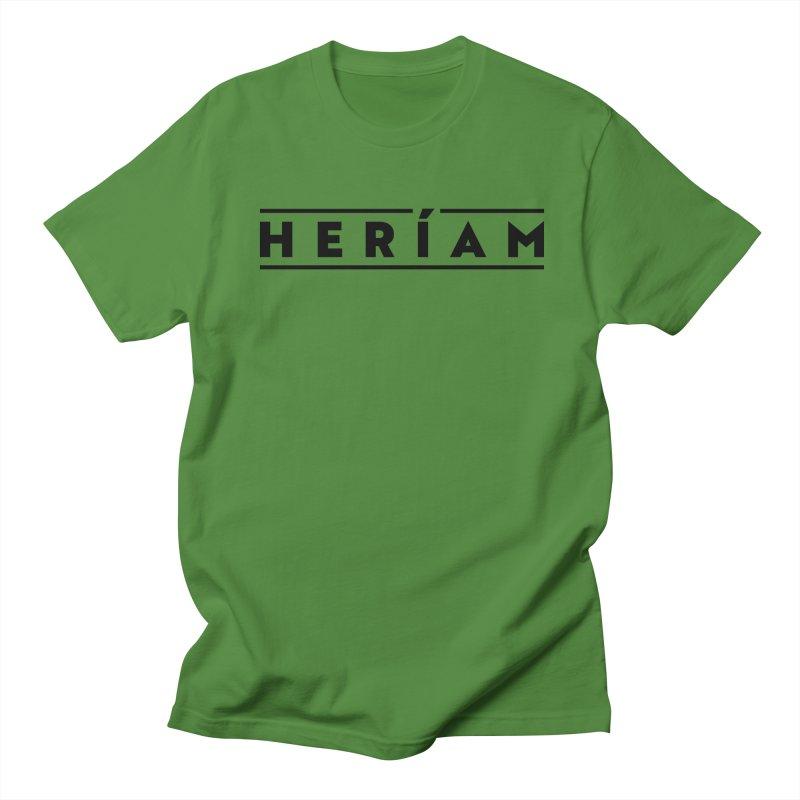 Heríam Simply Bold Men's Regular T-Shirt by HERÍAM's Artist Shop