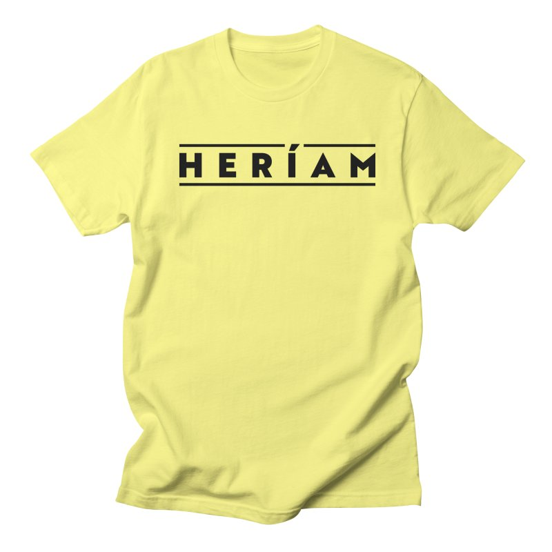Heríam Simply Bold Men's T-Shirt by HERÍAM's Artist Shop