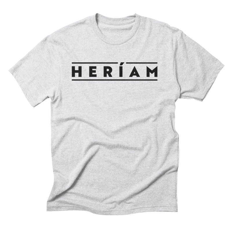Heríam Simply Bold Men's Triblend T-Shirt by HERÍAM's Artist Shop