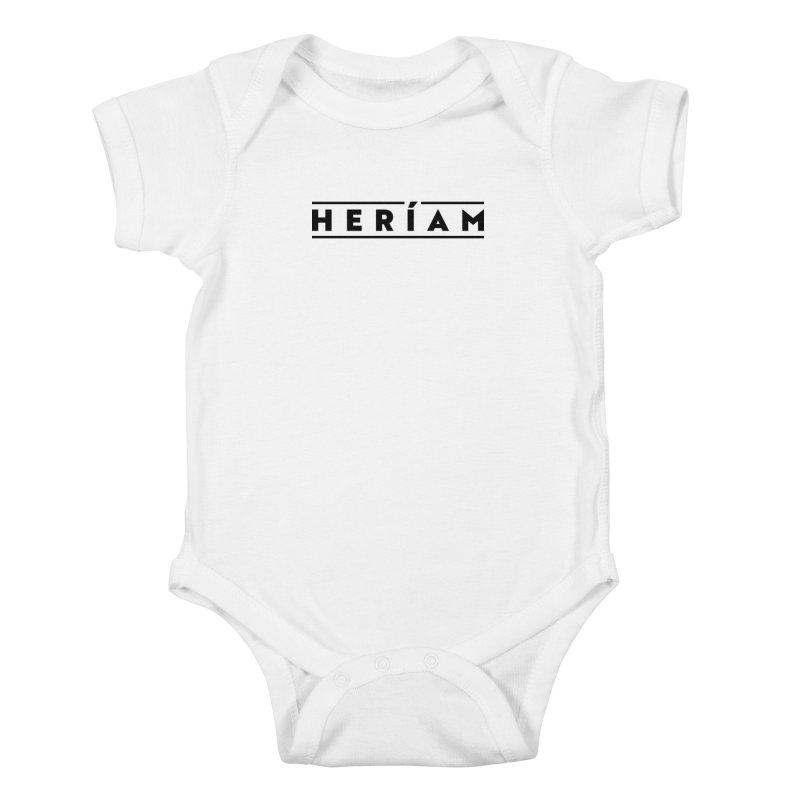 Heríam Simply Bold Kids Baby Bodysuit by HERÍAM's Artist Shop