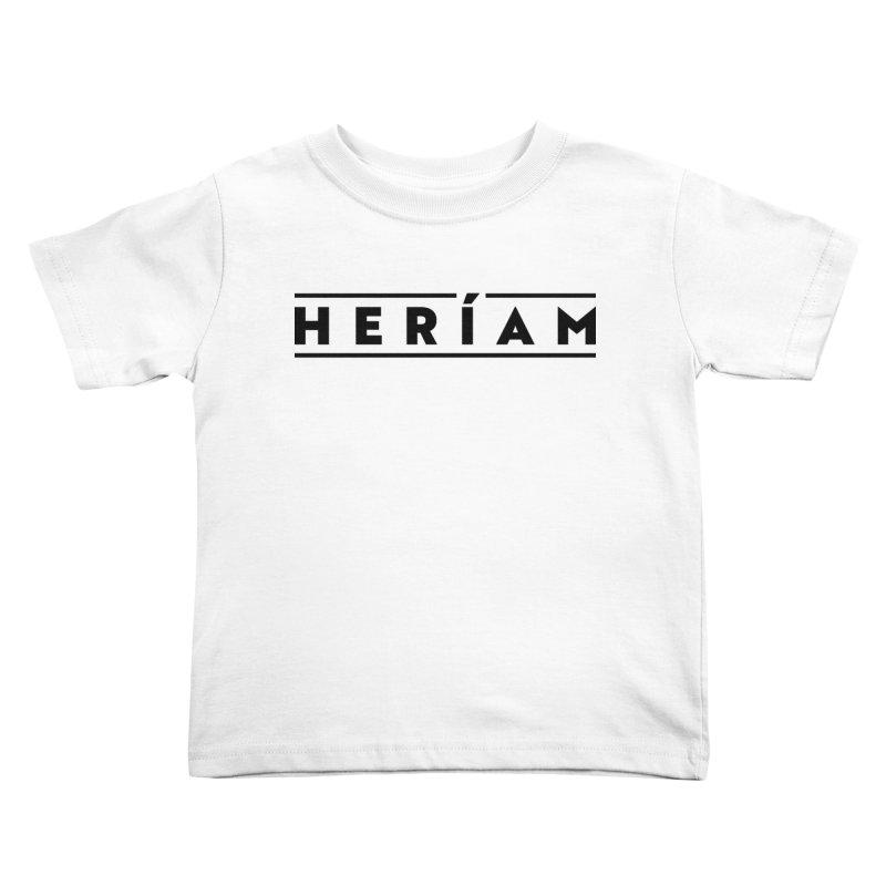 Heríam Simply Bold Kids Toddler T-Shirt by HERÍAM's Artist Shop