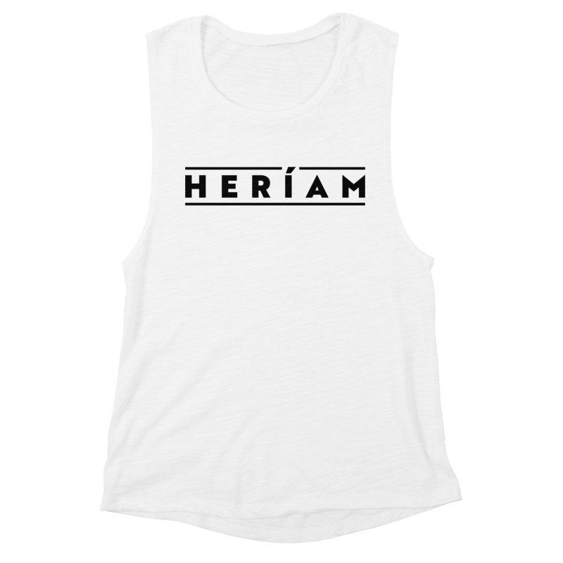 Heríam Simply Bold Women's Muscle Tank by HERÍAM's Artist Shop