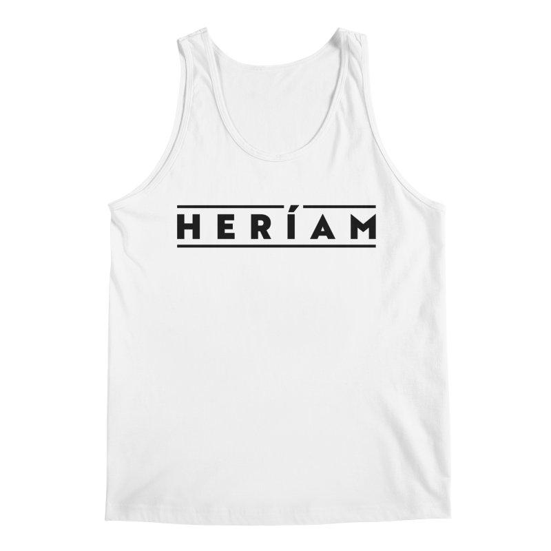 Heríam Simply Bold Men's Regular Tank by HERÍAM's Artist Shop