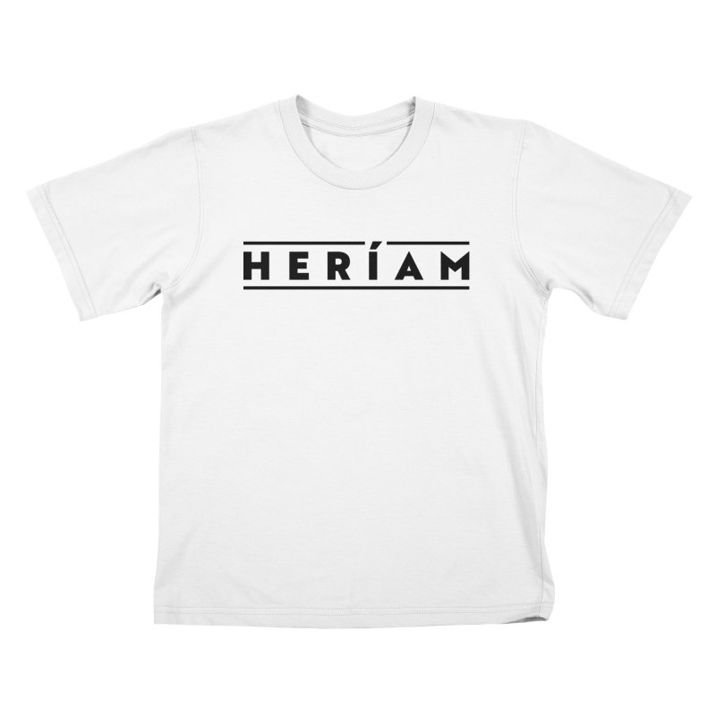 Heríam Simply Bold Kids T-Shirt by HERÍAM's Artist Shop