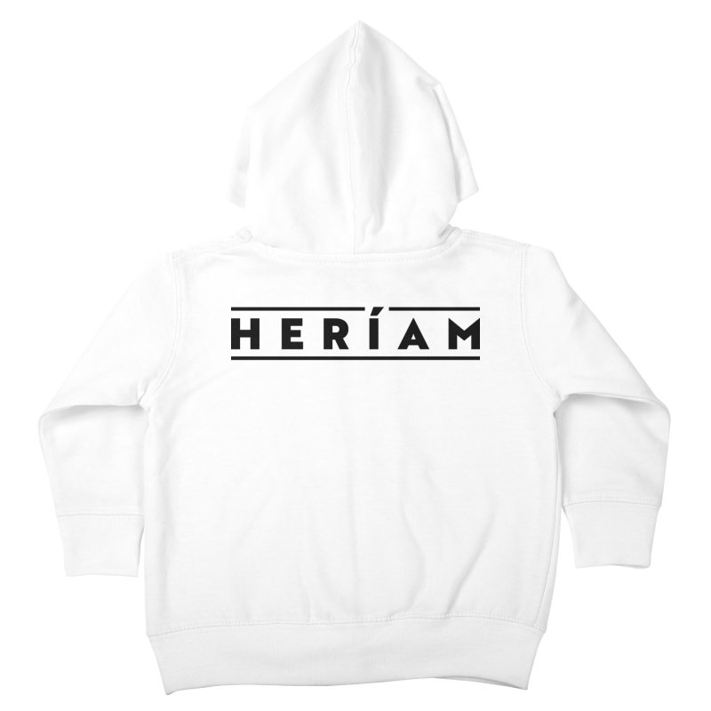 Heríam Simply Bold Kids Toddler Zip-Up Hoody by HERÍAM's Artist Shop
