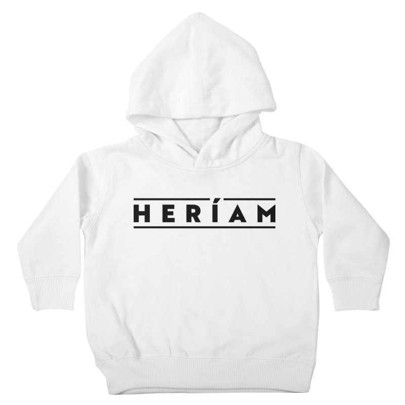 Heríam Simply Bold Kids Toddler Pullover Hoody by HERÍAM's Artist Shop