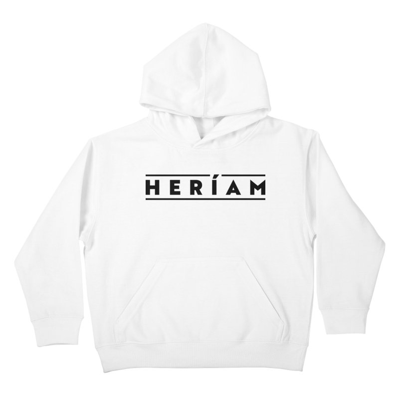 Heríam Simply Bold Kids Pullover Hoody by HERÍAM's Artist Shop