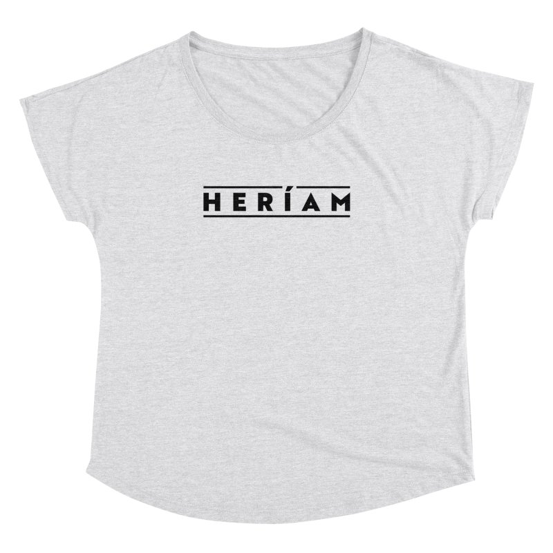 Heríam Simply Bold Women's Dolman Scoop Neck by HERÍAM's Artist Shop