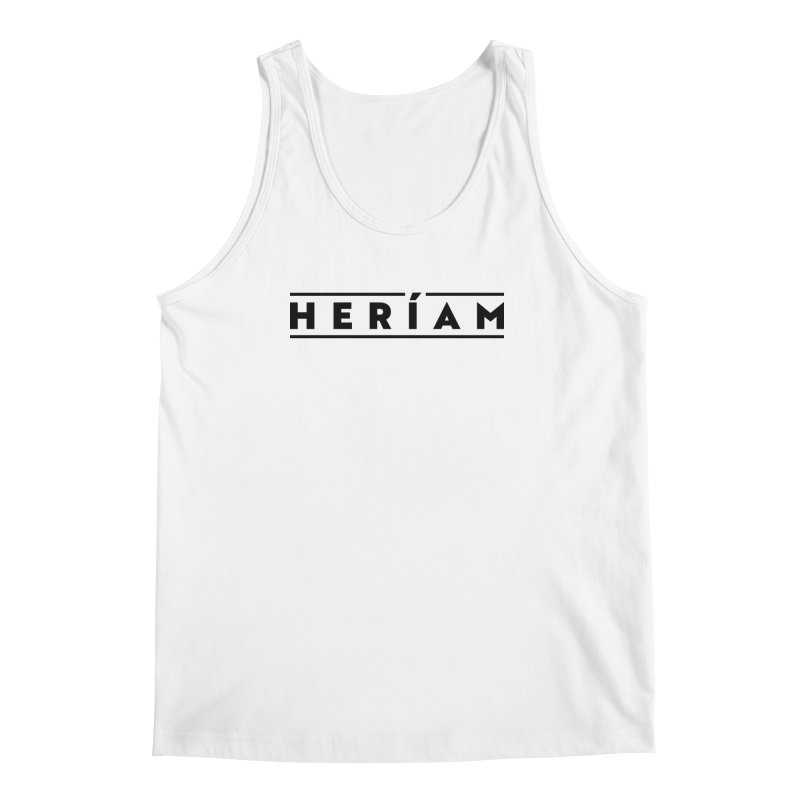 Heríam Simply Bold Men's Regular Tank by HERÍAM's Artist Shop
