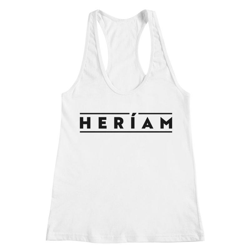 Heríam Simply Bold Women's Racerback Tank by HERÍAM's Artist Shop