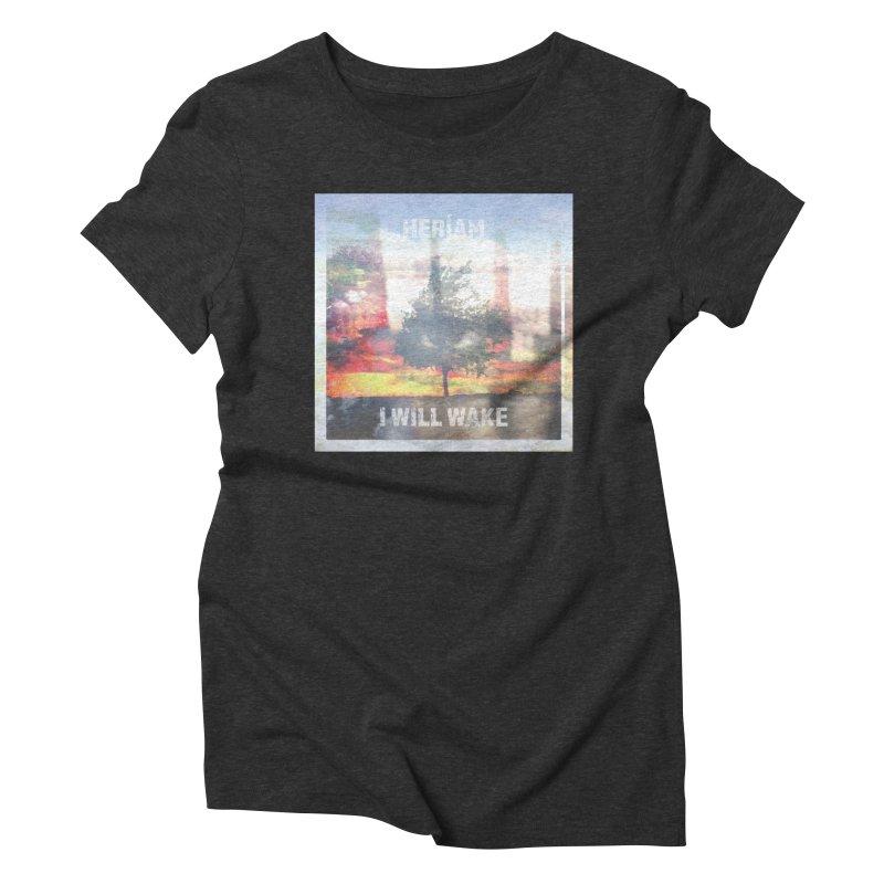 I Will Wake Cover Art Women's Triblend T-Shirt by HERÍAM's Artist Shop
