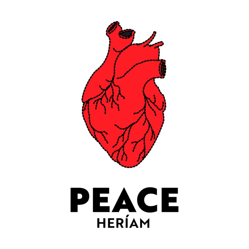 Heart of Peace by HERÍAM's Artist Shop