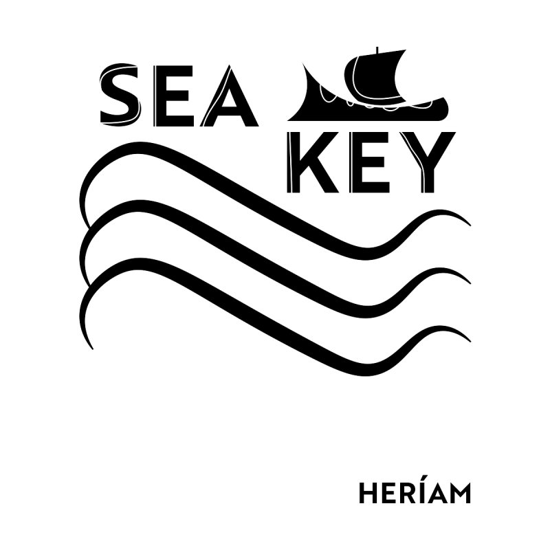 SEA KEY Song Tee Men's T-Shirt by HERÍAM's Artist Shop