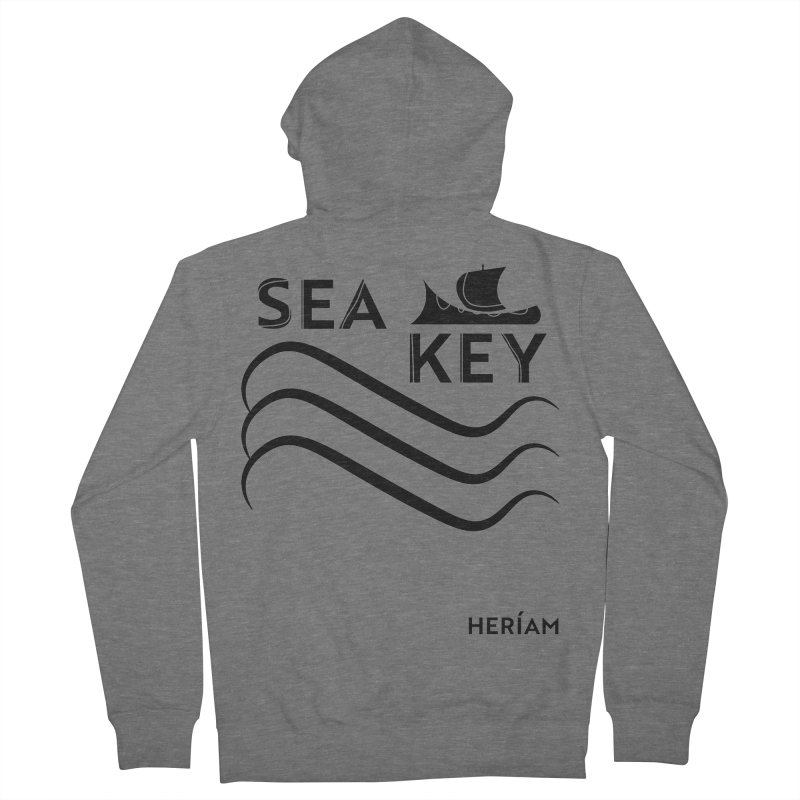 SEA KEY Song Tee Men's French Terry Zip-Up Hoody by HERÍAM's Artist Shop