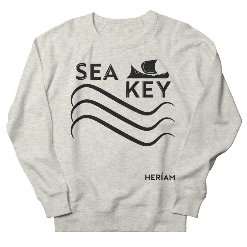 SEA KEY Song Tee Men's French Terry Sweatshirt by HERÍAM's Artist Shop