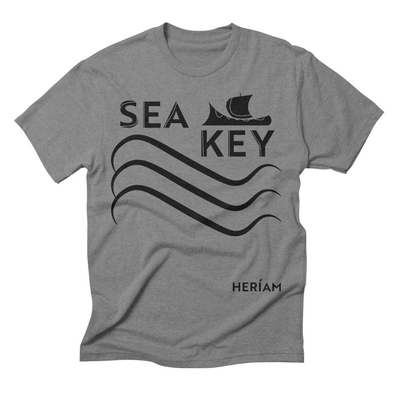 SEA KEY Song Tee Men's Triblend T-Shirt by HERÍAM's Artist Shop