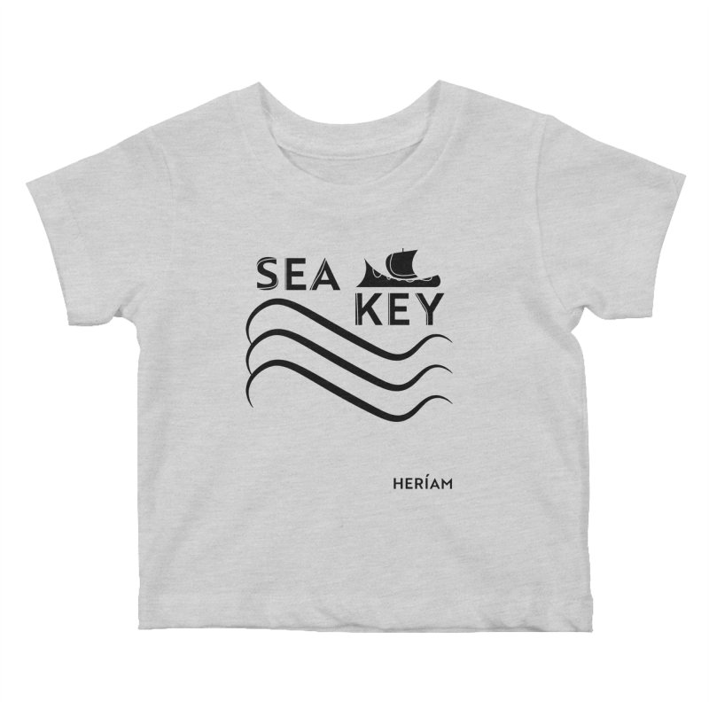 SEA KEY Song Tee Kids Baby T-Shirt by HERÍAM's Artist Shop
