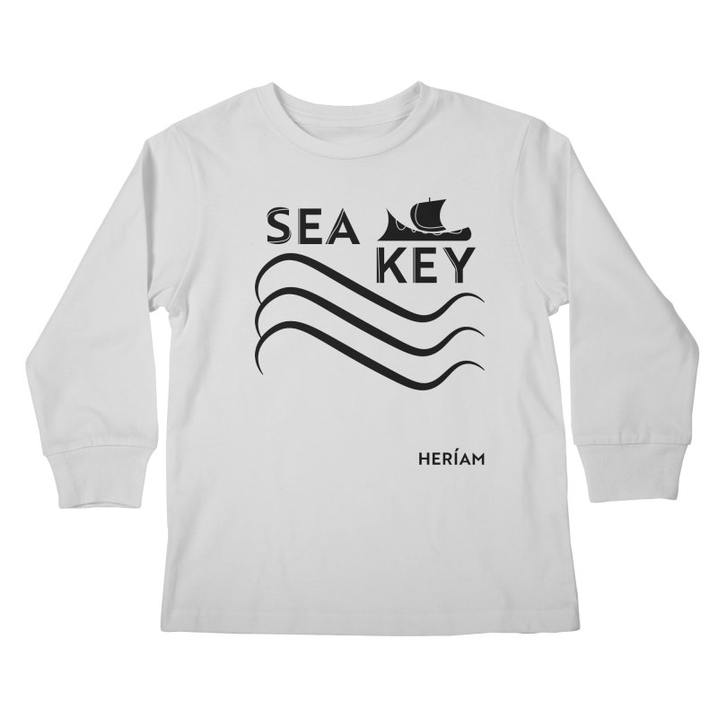 SEA KEY Song Tee Kids Longsleeve T-Shirt by HERÍAM's Artist Shop