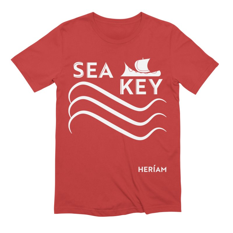 SEA KEY Song Tee 2 Men's Extra Soft T-Shirt by HERÍAM's Artist Shop