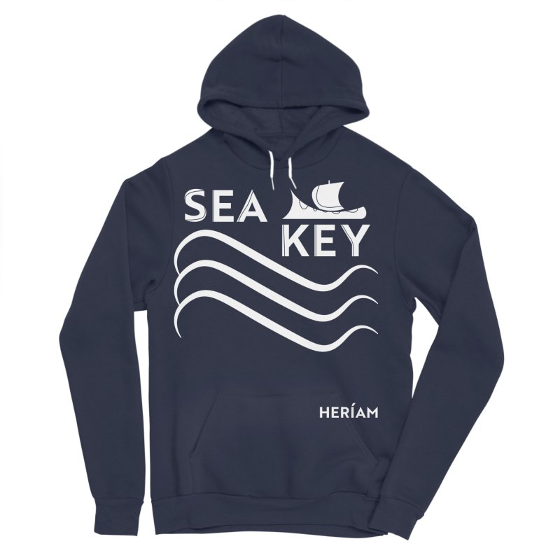 SEA KEY Song Tee 2 Women's Sponge Fleece Pullover Hoody by HERÍAM's Artist Shop