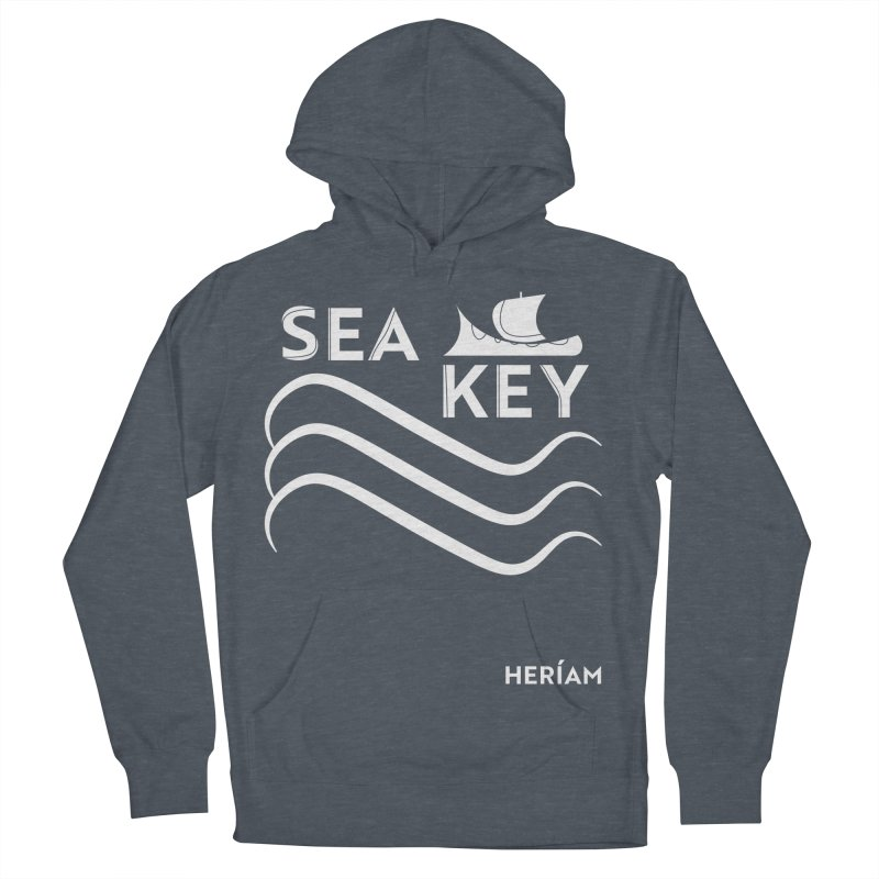 SEA KEY Song Tee 2 Women's French Terry Pullover Hoody by HERÍAM's Artist Shop