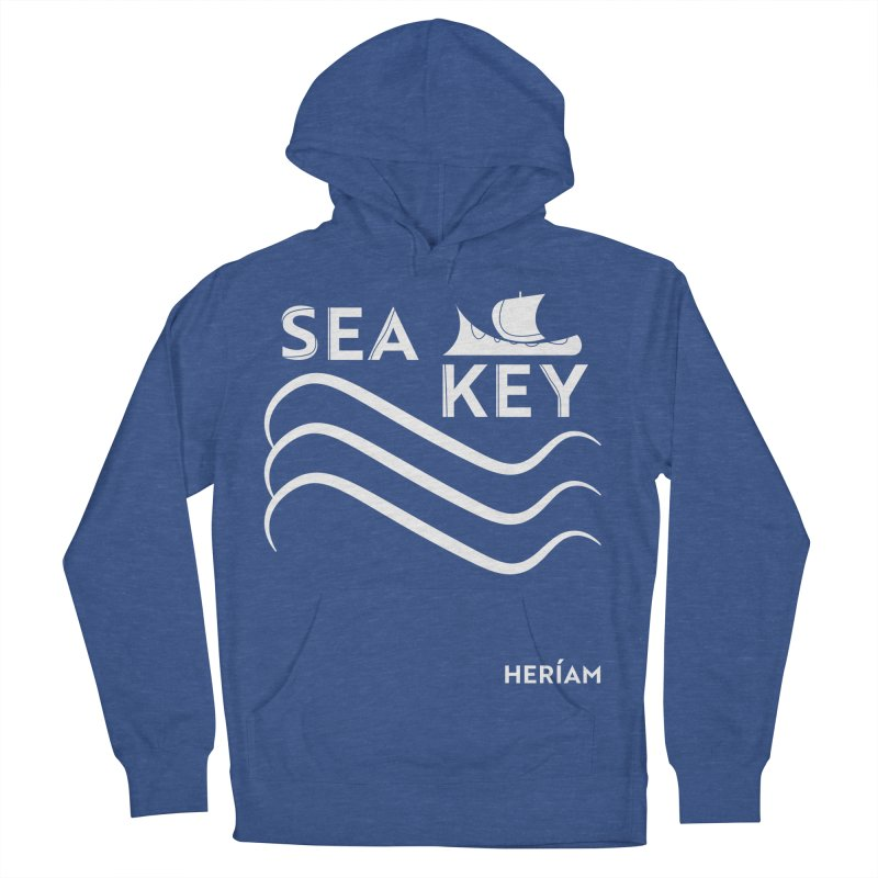 SEA KEY Song Tee 2 Men's French Terry Pullover Hoody by HERÍAM's Artist Shop