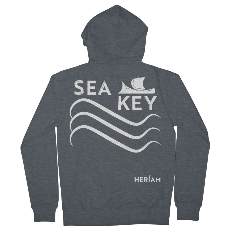 SEA KEY Song Tee 2 Women's French Terry Zip-Up Hoody by HERÍAM's Artist Shop