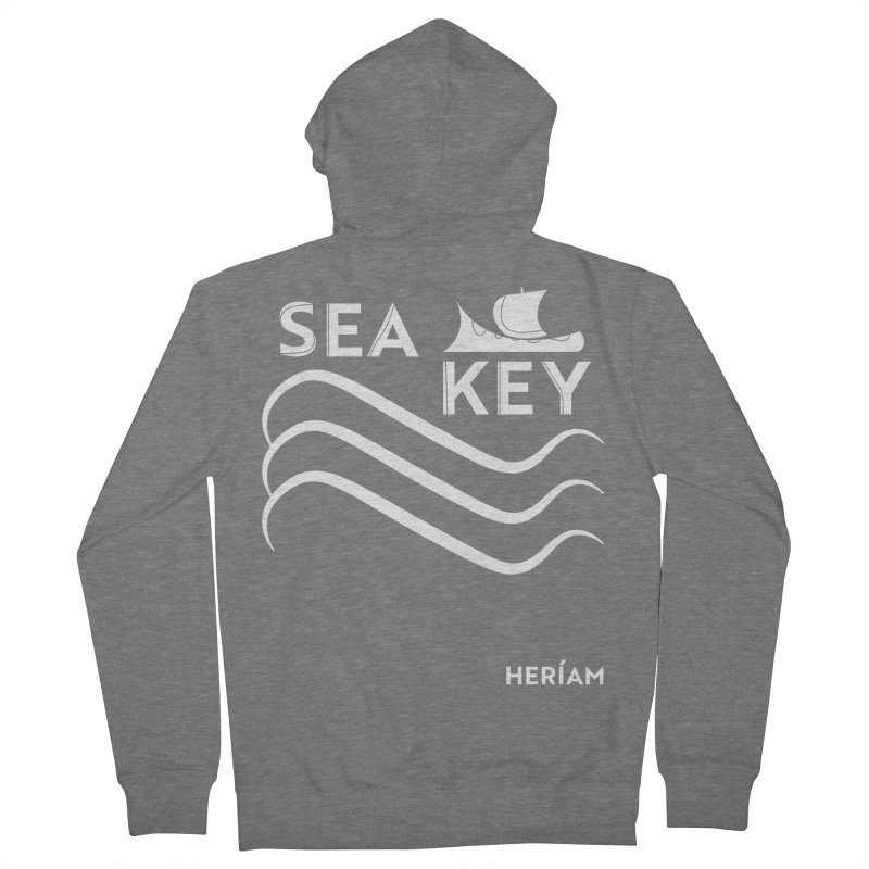 SEA KEY Song Tee 2 Men's French Terry Zip-Up Hoody by HERÍAM's Artist Shop