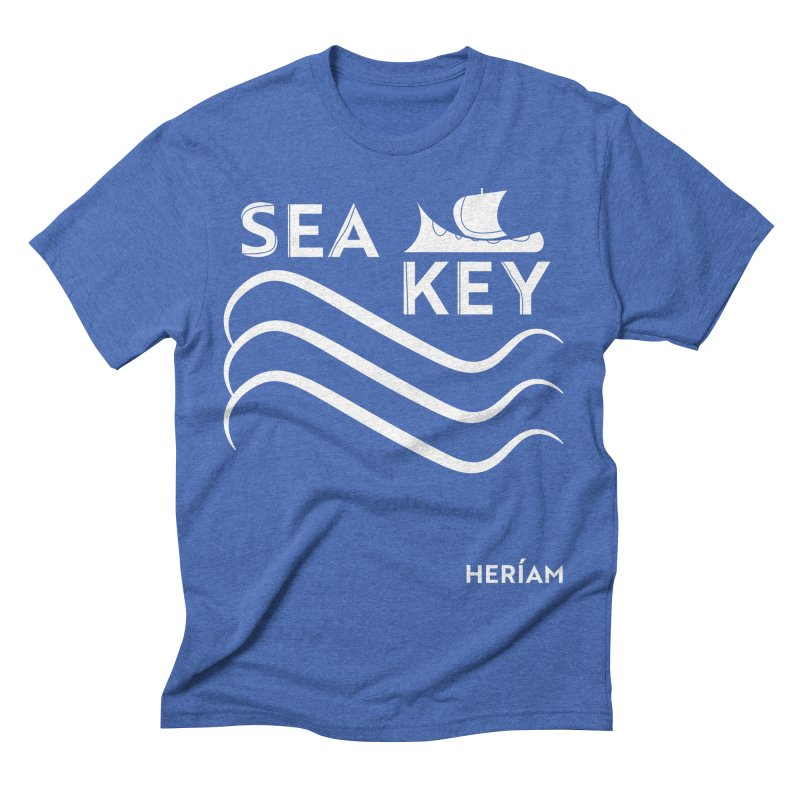 SEA KEY Song Tee 2 Men's T-Shirt by HERÍAM's Artist Shop