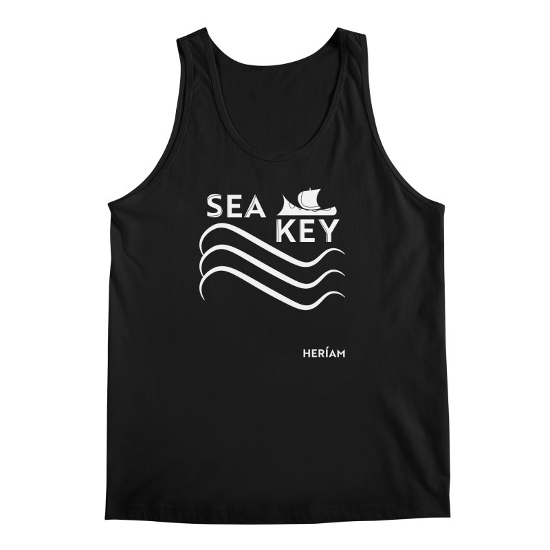 SEA KEY Song Tee 2 Men's Regular Tank by HERÍAM's Artist Shop
