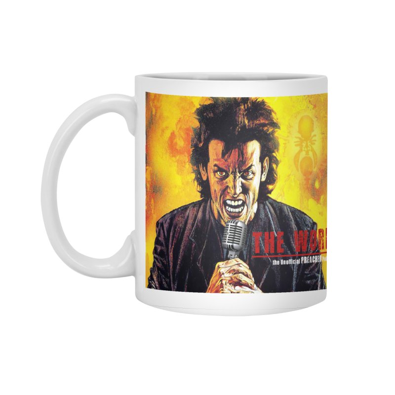 The Word: The Unofficial PREACHER Podcast Logo Accessories Standard Mug by Heroes of Noise Artist Shop