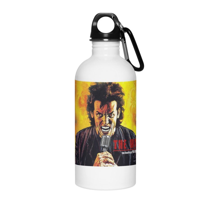 The Word: The Unofficial PREACHER Podcast Logo Accessories Water Bottle by Heroes of Noise Artist Shop